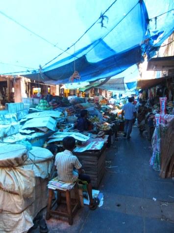 entering the bazaar